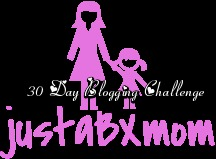 justabxmom 30 day blogging challenge