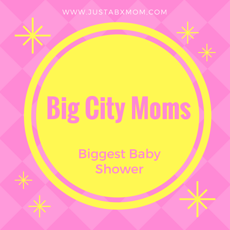 my big city moms biggest baby shower brags