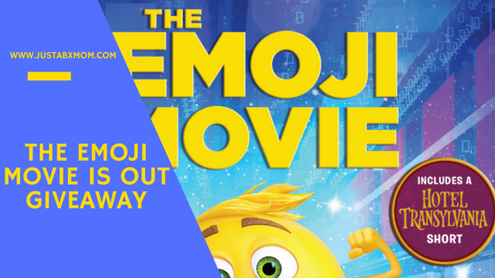 emoji movie, dvd release, giveaway, meh, smiler, jailbreak, high-5