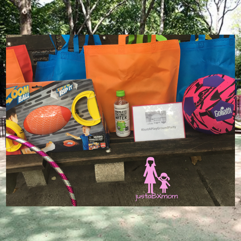 golaith games, harmless harvest, harmless harvest coconut water, zoom ball, rip and zip, hydro zoom ball, amazon, coconut water, playground, nycplayground, justaplaydate, justaplaygroundparty, unplug