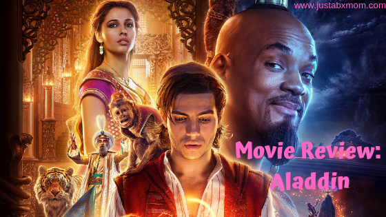 aladdin review, aladdin live action